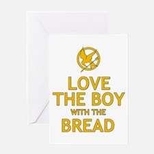 Love the Boy with the Bread Greeting Card
