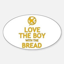Love the Boy with the Bread Sticker (Oval)