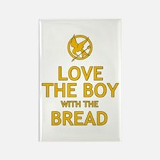 Love the Boy with the Bread Rectangle Magnet