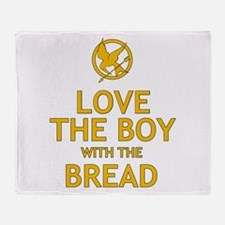 Love the Boy with the Bread Throw Blanket