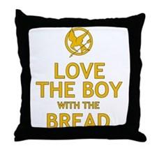 Love the Boy with the Bread Throw Pillow
