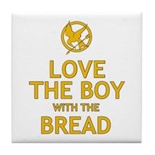 Love the Boy with the Bread Tile Coaster