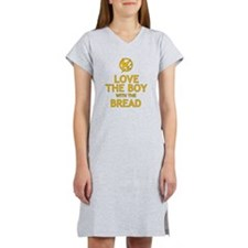 Love the Boy with the Bread Women's Nightshirt