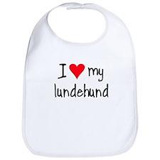 I LOVE MY Lundehund Bib