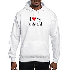 I LOVE MY Lundehund Hoodie