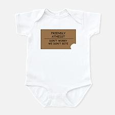 Friendly Atheist Infant Bodysuit