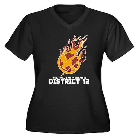 It Began in District 12 Women's Plus Size V-Neck D
