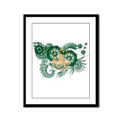 Macau Flag Framed Panel Print