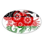 Malawi Flag Sticker (Oval 50 pk)