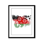 Malawi Flag Framed Panel Print