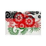 Malawi Flag Rectangle Magnet (100 pack)
