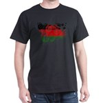 Malawi Flag Dark T-Shirt