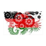 Malawi Flag 38.5 x 24.5 Wall Peel