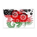 Malawi Flag 22x14 Wall Peel