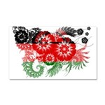 Malawi Flag Car Magnet 20 x 12