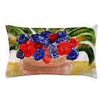 Flowers in Pot Pillow Case