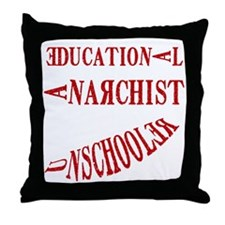 Cute Anarchy Throw Pillow