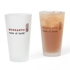 Monsanto: Seeds of Death Drinking Glass