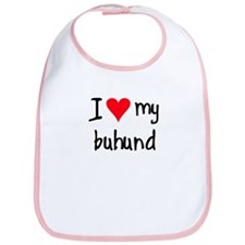 I LOVE MY Buhund Bib