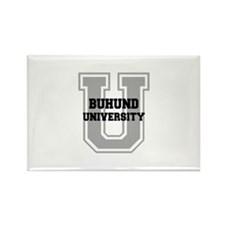 Buhund UNIVERSITY Rectangle Magnet