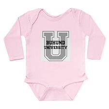 Buhund UNIVERSITY Long Sleeve Infant Bodysuit