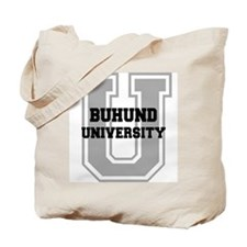 Buhund UNIVERSITY Tote Bag