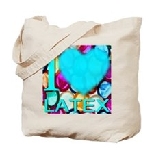 I (Heart) Latex Tote Bag