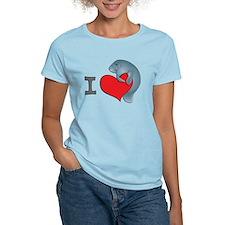 I-heart-Kmanatee T-Shirt
