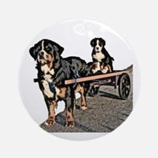 Back Seat Drafter Ornament (Round)