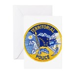 Alaska Territory Police Greeting Cards (Package of