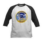 Alaska Territory Police Kids Baseball Jersey