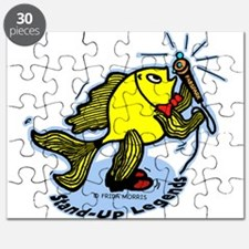 Stand-Up Fish funny comic car Puzzle