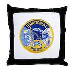 Alaska Territory Police Throw Pillow