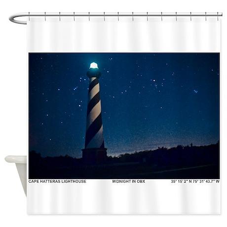 Hatteras Lighthouse. Shower Curtain