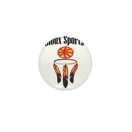 Sioux Sports Mini Button (10 pack)