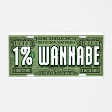 Unique Ninety nine percent Aluminum License Plate