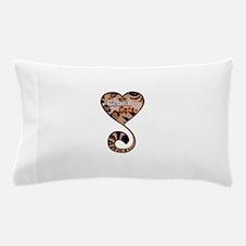 Bengal Cat Love Pillow Case