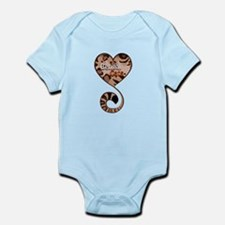 Bengal Cat Love Infant Bodysuit