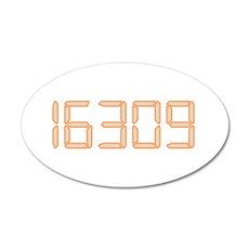 16309 22x14 Oval Wall Peel