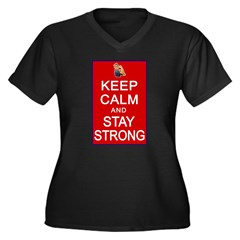 Womens Rights Keep Calm Stay Strong Women's Plus S