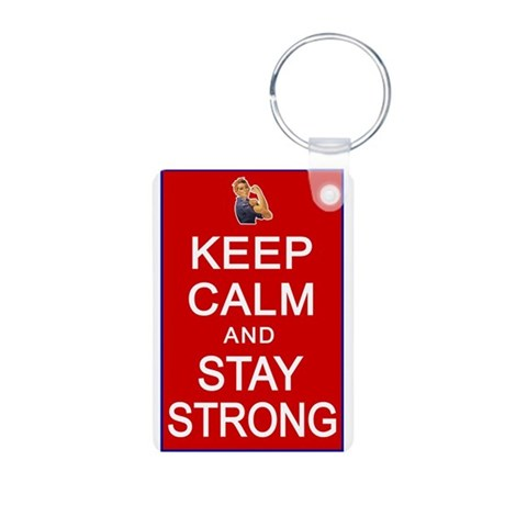 Womens Rights Keep Calm Stay Strong Aluminum Photo