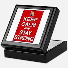 Womens Rights Keep Calm Stay Strong Keepsake Box