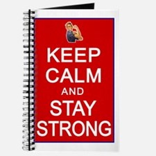 Womens Rights Keep Calm Stay Strong Journal
