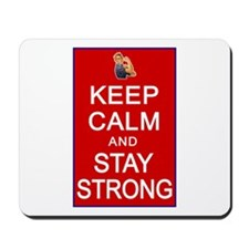 Womens Rights Keep Calm Stay Strong Mousepad