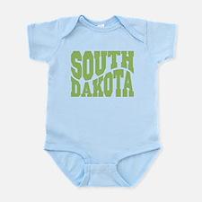 South Dakota Infant Bodysuit