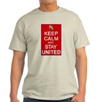Keep Calm and Stay United Light T-Shirt