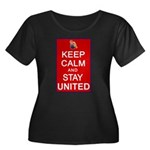 Keep Calm and Stay United Women's Plus Size Scoop