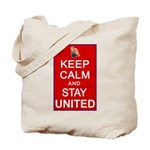 Keep Calm and Stay United Tote Bag