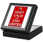 Keep Calm and Stay United Keepsake Box