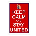Keep Calm and Stay United Postcards (Package of 8)